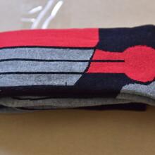 滑雪襪男女秋冬戶外成人滑雪保暖黑色高筒襪長襪襪子圖片