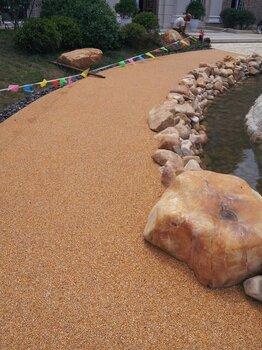 膠粘石膠粘石透水膠粘石透水地坪膠粘石透水地坪施工