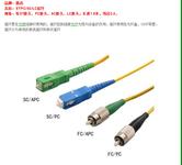 南宁ST单模光纤跳线,桂林SC多模光纤跳线图片