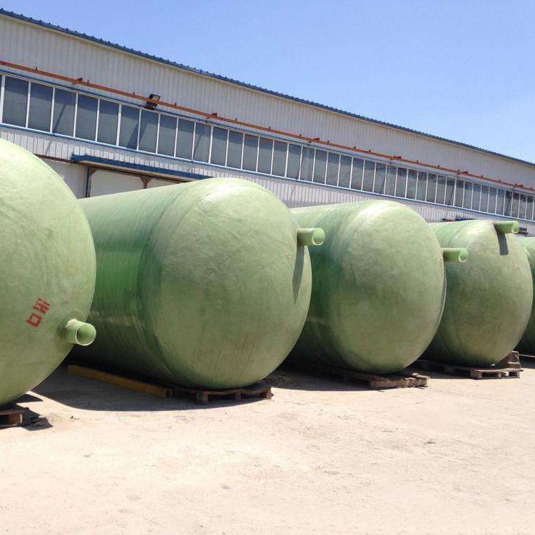 南京玻璃鋼化糞池子、玻璃鋼整體化糞池價格