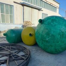 呼倫貝爾化糞池的玻璃鋼廠商-玻璃鋼化糞池價格表圖片