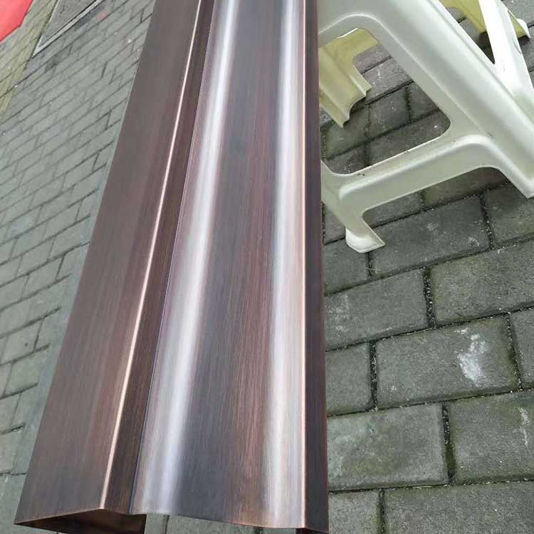 吉林長春鋁合金雨水管圖紙定做樹脂雨水管