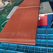 遼寧沈陽雨水管彩鋁落水管經銷價金屬成品檐溝圖片