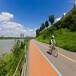陶瓷顆粒路面用于行車道路面系統