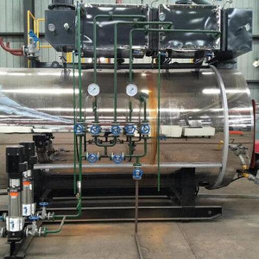 二噸燃氣蒸汽鍋爐--傳熱性能高_安裝周期短