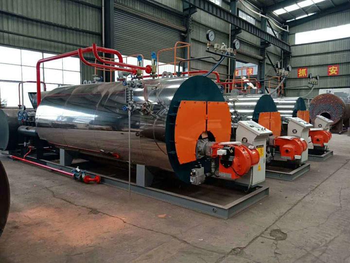 12噸低氮燃氣蒸汽鍋爐--廠家-節成本30