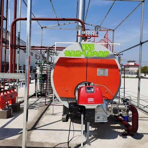 8噸燃油氣熱水鍋爐--用于-水產-養殖