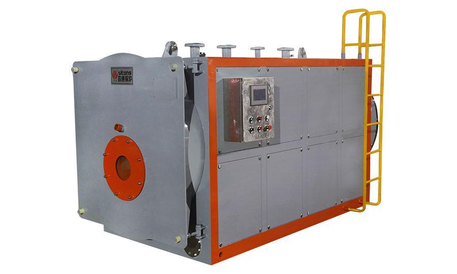 10噸燃氣低氮熱水鍋爐--居民供暖-集中供暖