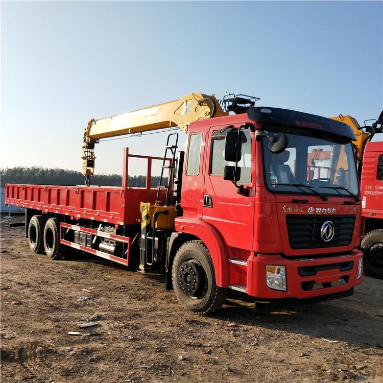 甘肅陜汽德龍濰柴340馬力三一8、10噸隨車吊質量可靠