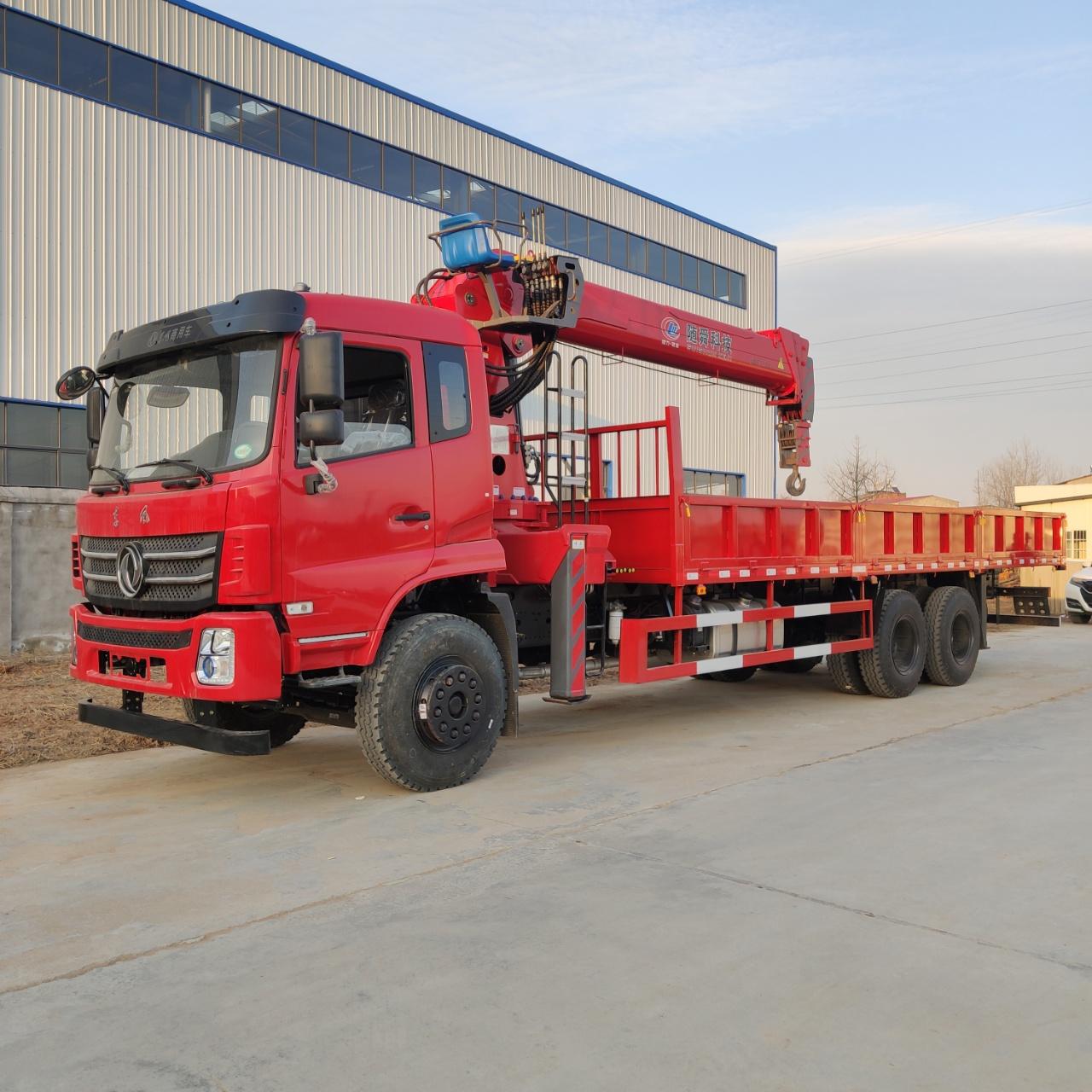 陕西解放J6大柴270马力三一8、10吨随车吊可分期