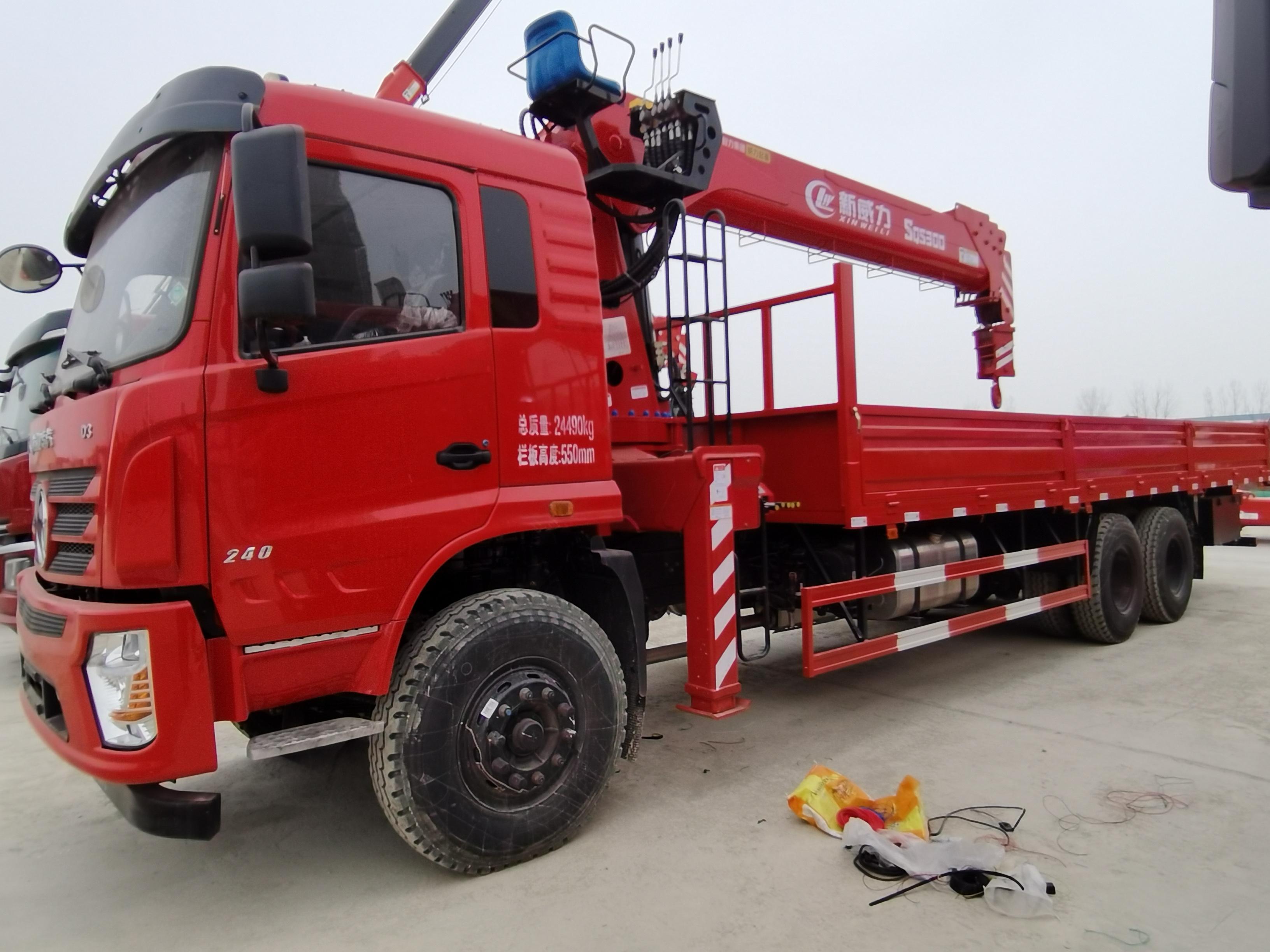 甘肅重汽歐曼康明斯290隨舜12、14噸吊機多少錢