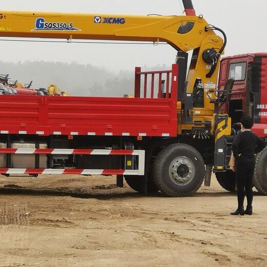 河北东风天龙康明斯270随舜8、10吨吊机价格优惠