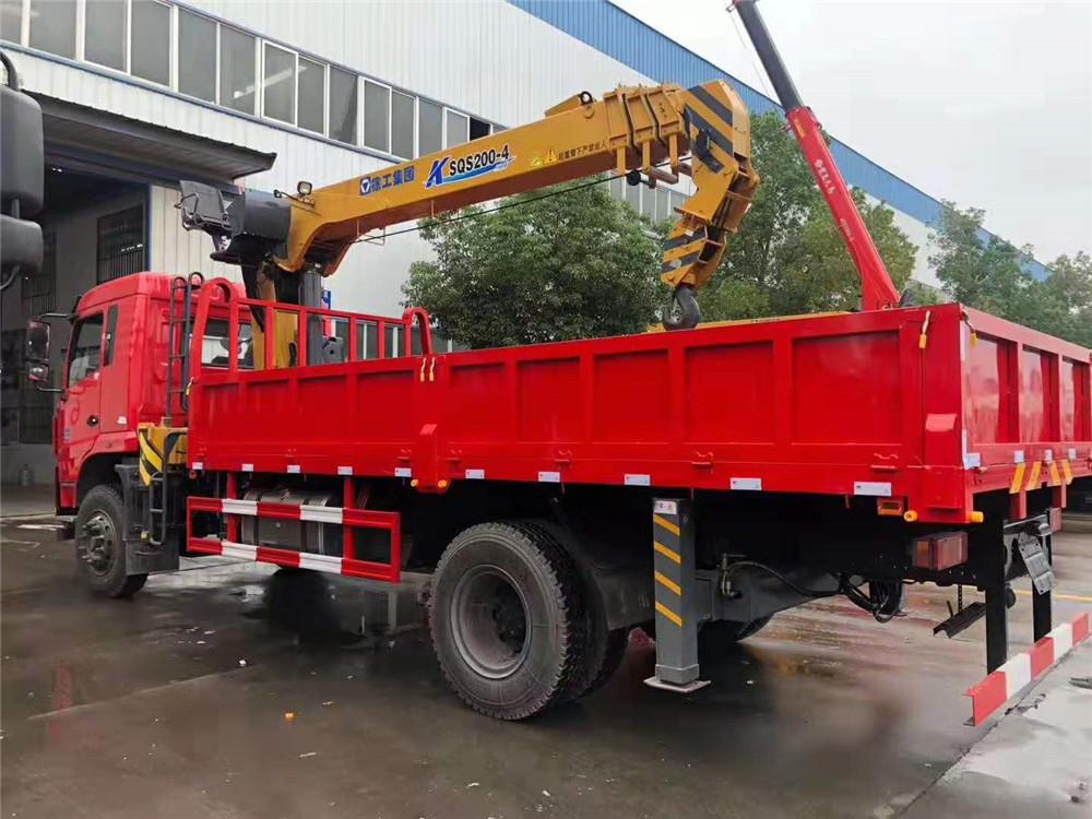 江西國五隨車吊12噸五節臂廠家