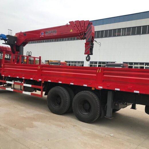 遼寧國五隨車吊8噸5米8貨箱隨車吊價格