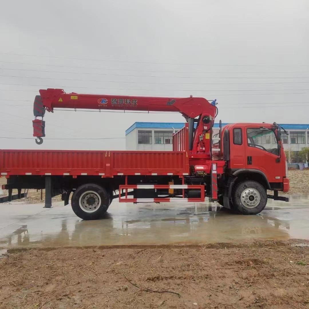 東風多利卡隨車起重機5噸隨車吊三一吊機生產廠家