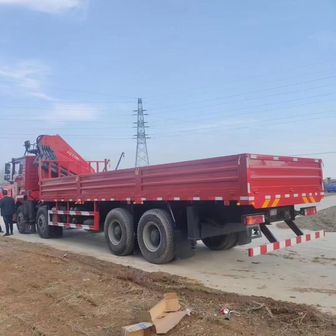 東風天錦隨車起重機8噸隨車吊石煤吊機價格多少