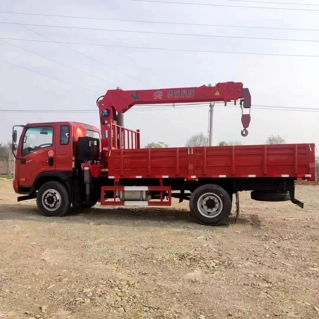 東風多利卡隨車起重機18噸隨車吊徐工吊機價格多少