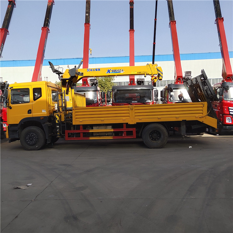 東風錦程隨車起重機16噸隨車吊程力吊機可分期