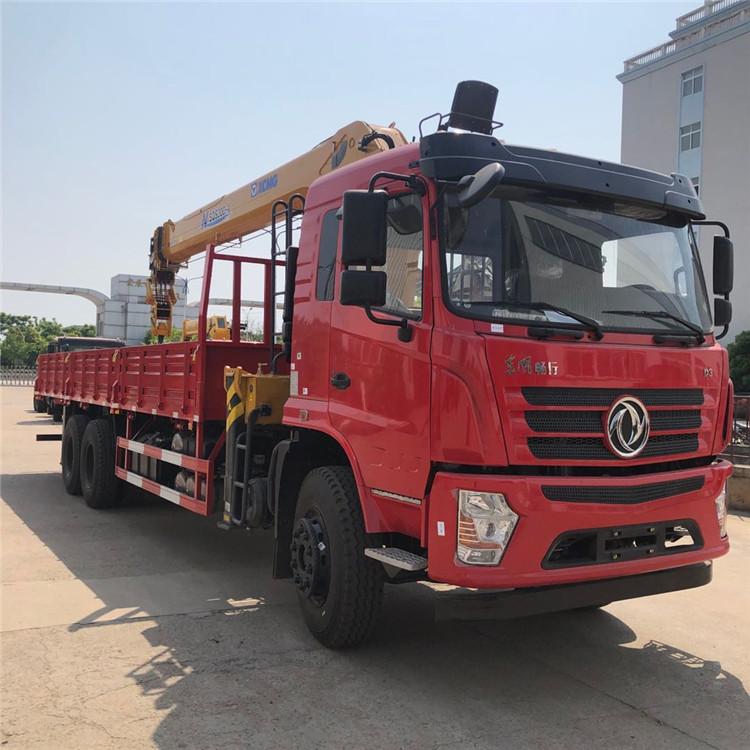 東風天龍隨車起重機14噸隨車吊石煤吊機價格多少