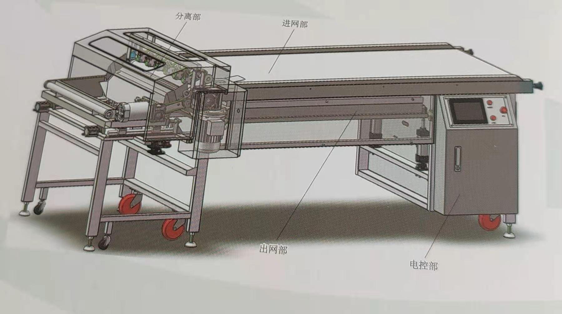 欧凯宠物食品机械设备剥离机食品设备型号BL-740