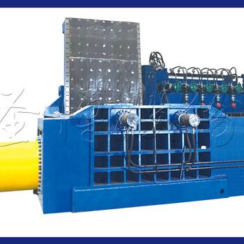 双臂式华宏卧式Y81型160液压金属打包机操作简单维修方便