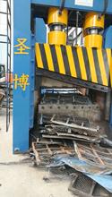 废钢厂高速龙门剪厂家废旧汽车壳剪切报价800吨图片
