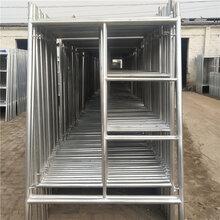 民用建筑梯形脚手架活动脚手架门式移动脚手架1m1.7m1.93m图片