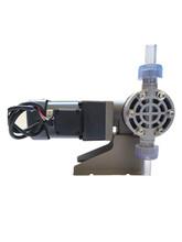 水处理机械设备配件PVC泵头机械泵耐腐蚀机械隔膜泵图片