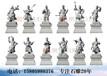 十二药叉石雕像12生肖守护神将军石雕石材药师十二大将