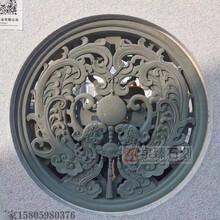 中式石雕鏤空窗寺廟祠堂浮雕石窗古建石雕圖片