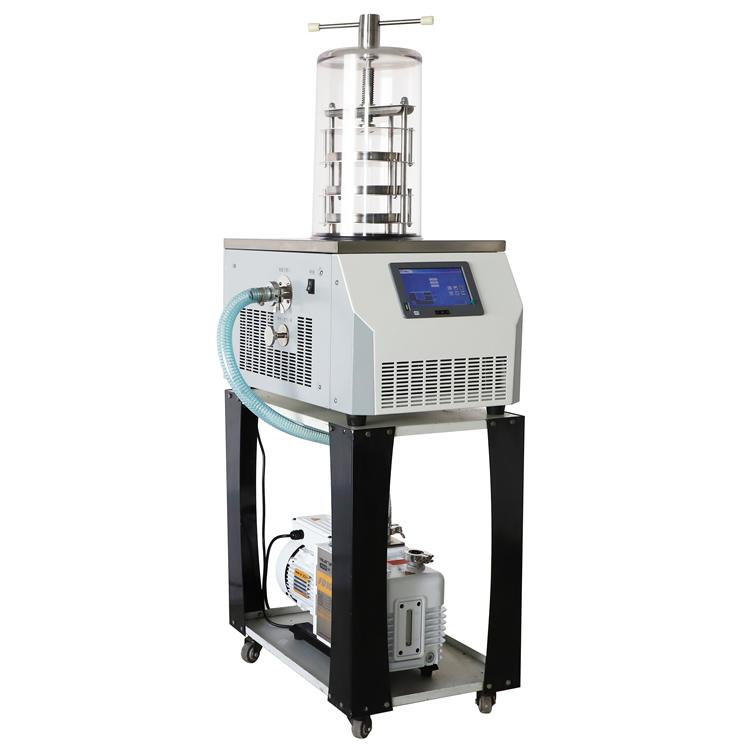 LGJ-18立式冷冻干燥机土壤有机物冻干机,实验型冻干机