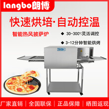 河南朗博熱風披薩爐全智能烘烤爐圖片