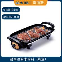 歌麗斯烤爐顆粒爐BBQ可重涂600度耐高溫粉末有機硅粉末涂料廠家圖片