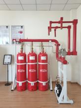 湖北齊力消防氣體滅火設備管網式七氟丙烷氣體滅火系統價格圖片