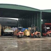渭南定制大型倉庫折疊帳篷戶外伸縮遮陽雨棚移動式車棚大排檔雨蓬圖片