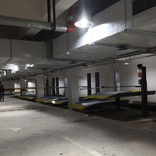 南充停車庫租賃俯仰式立體車庫停車設備二手立體車位過驗收圖片