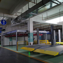 重慶長壽區停車庫租賃升降橫移機械車位加工機械停車規劃驗收圖片
