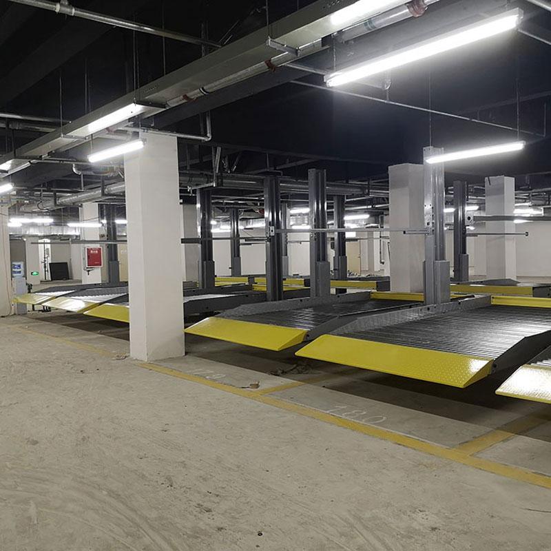 德格县停车设备租赁地坑立体停车回购莱贝机械停车位改造