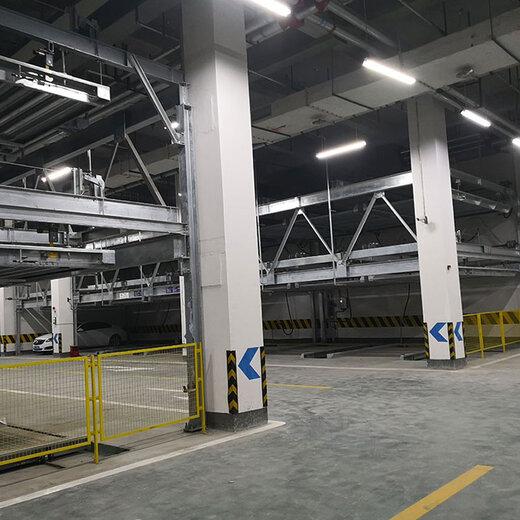 怒江贡山立体停车租赁垂直升降式机械停车租凭莱贝立体车库停车设