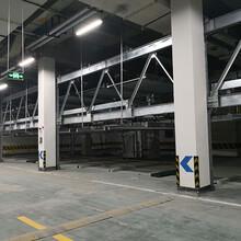 重慶沙坪壩停車庫租賃鋼絲繩停車庫二手機械式停車設備改造圖片