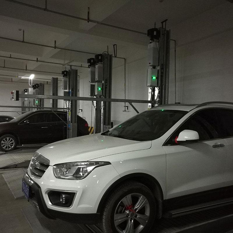 张掖市山丹县立体车位租赁垂直升降机械式立体车库租用莱贝机械立