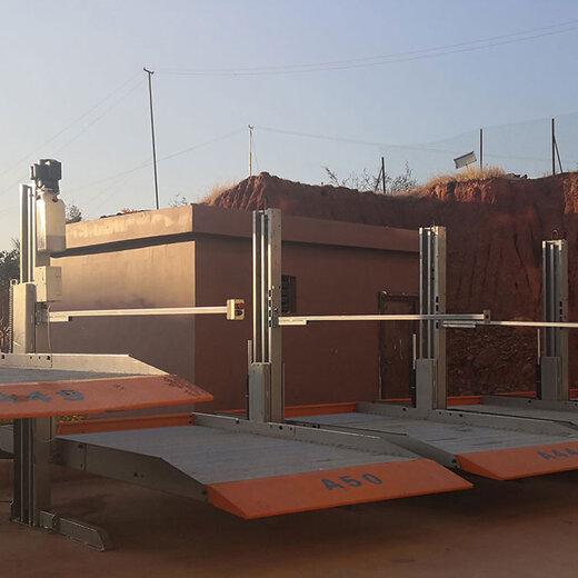 西安簡易升降式立體車庫安裝會澤簡易立體車庫倍萊立體停車