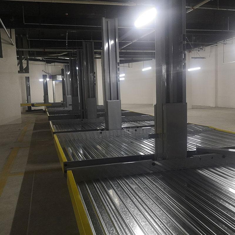 榆林府谷机械车位租赁升降横移式机械车位生产莱贝停车设备收购