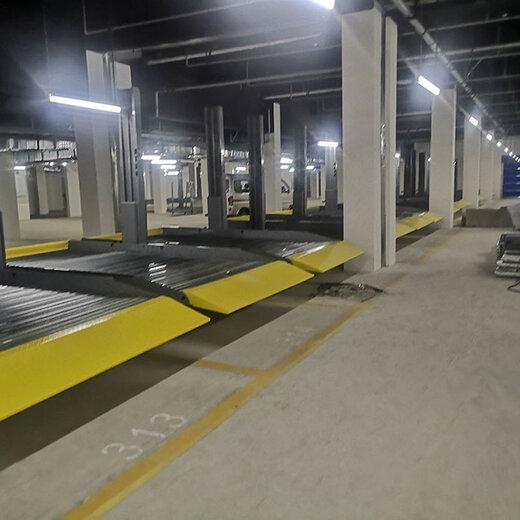 仁和區智能車庫五通橋區樓盤機械車庫前鋒停車設備二手機械式立體停車小型