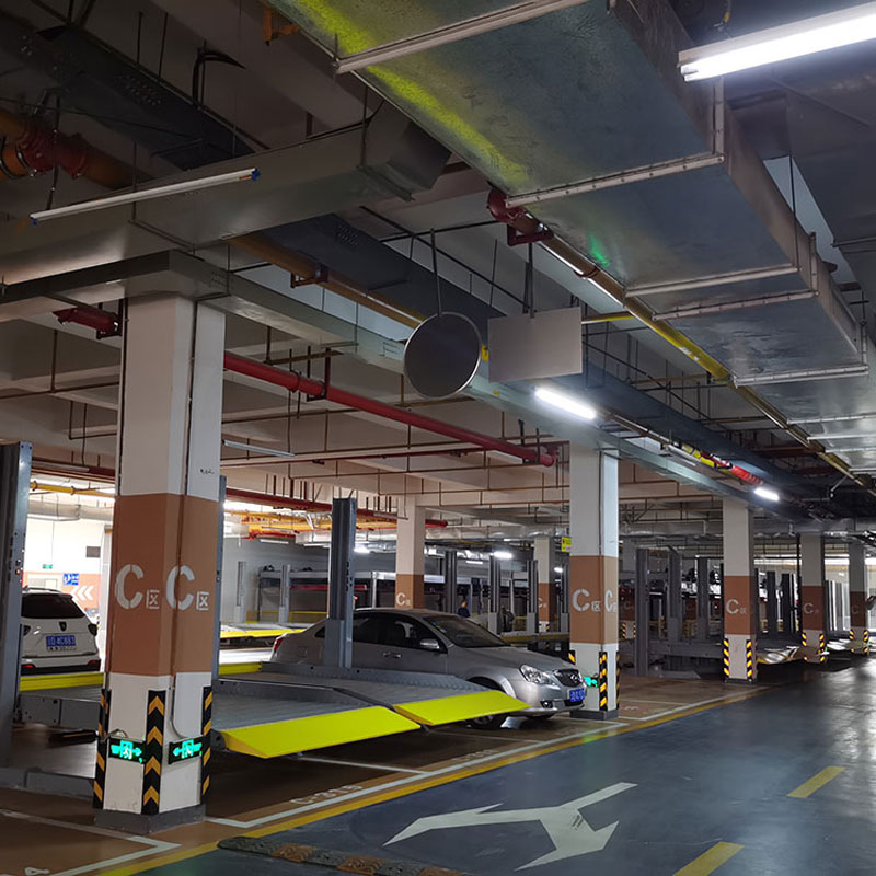 毕节PXD立体车库盐边社会资本停车设施倍莱机械式立体停车设备
