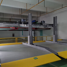 漢源雙層子母車庫城口車牌識別系統倍萊機械停車規劃驗收圖片