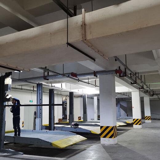 成都機械停車設備改造貢井立體停車位倍萊機械停車場