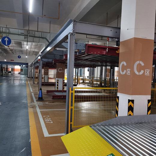 四川立體停車庫改造大竹機械式停車設備倍萊機械式立體車庫