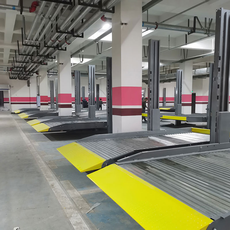 西秀区机械车位租赁俯仰式机械停车库拆除莱贝机械停车场回收