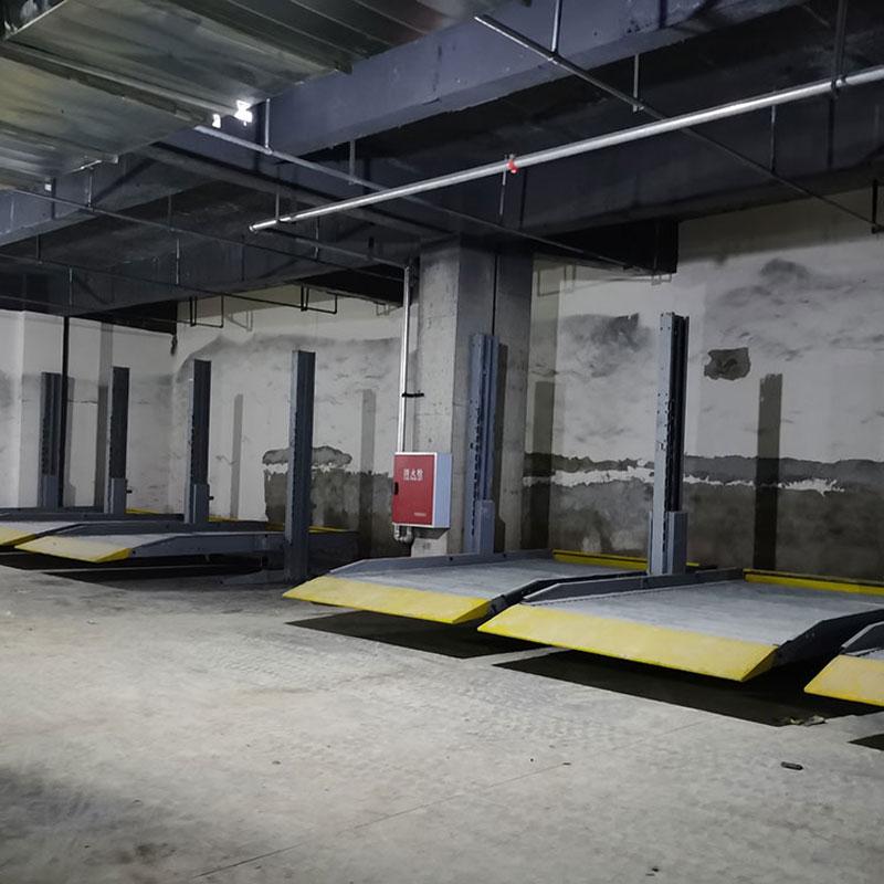 陕西省丹凤机械车位租赁链条式机械停车设备拆除莱贝立体停车位安
